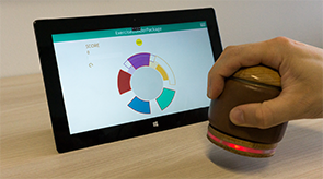 Preview for research project: HANDle: A Novel Tangible Device for Hand Therapy Exergames