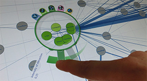 Preview for research project: MultiLens – Multi-Touch Lenses for Information Visualization