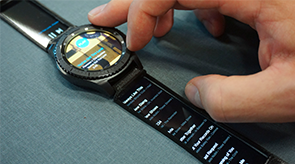 Preview for research project: Watch+Strap: Extending Smartwatches with Interactive StrapDisplays