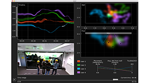 Preview for research project: GIAnT: Visualizing Group Interaction at Large Wall Displays
