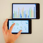 VisTiles: Coordinating and Combining Co-located Mobile Devices for Visual Data Exploration