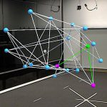Augmented Reality Graph Visualizations: Investigation of Visual Styles in 3D Node-Link Diagrams